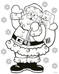 Free Printable Christmas Coloring Pages Photo