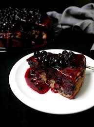 vegan lemon blueberry cake holy cow vegan recipes
