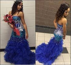 sunjai williams long mermaid prom dresses 2016 strapless sparkling
