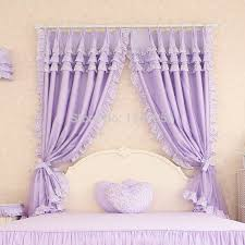 Curtains For Girls Room by Custom Made Luxury Purple Cotton Modern Living Room Curtains Sheer