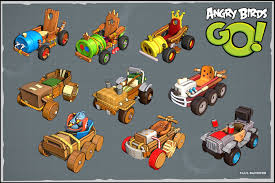 Angry Birds Go Kart