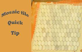 Unmodified Thinset For Glass Tile by Mosaic Tile Quick Tip With Kerdi Youtube