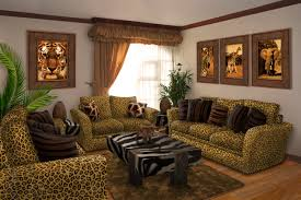 John Deere Room Decorating Ideas by Elegant Safari Living Room Decor