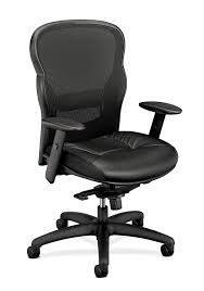 HON Wave Executive Leather Chair - Mesh High-Back Task Chair With Arms,  Black (HVL701) Vl581 Highback Task Chair Supports Up To 250 Lbs Black Seatblack Back Base Hg Sofi 7500 Frame Mesh High Fabric Mulfunction Ergonomic Swivel With Adjustable Arms Rh Logic 400 8s And Neck Rest Safco 3500bl Serenity Big Tall Leather With Height Dams Jota Ergo 24 Hour Pcb Operators Jxergoa Posturemax Office Hon Prominent Item 433734 Antares High Back Task Chair D204934 Products Chase Malaga Low Synchrotilter Mesh Arm Lumbar Support Ergonomic Computeroffice 1 Piece Box