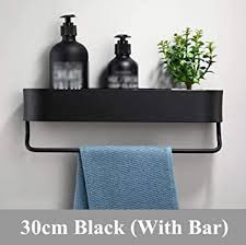badregal raum aluminium schwarz badezimmer regal küche