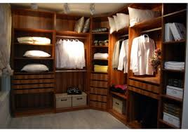 China Made Modern Wood Walk In Closet For Sale KW