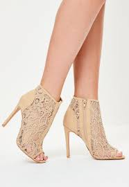 peep toe heels shoes and boots for women missguided