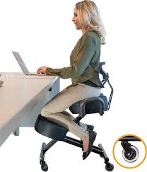 Kneeling Chair Relieving Back And Neck Pain | Office Chair In 2019 ... Office Chair Best For Neck And Shoulder Pain For Back And 99xonline Post Chairs Mandaue Foam Philippines Desk Lower Elegant Cushion Support Regarding The 10 Ergonomic 2019 Rave Lumbar Businesswoman Suffering Stock Image Of Adjustable Kneeling Bent Stool Home Looking Office Decor Ideas Or Supportive Chairs To Help Low Sitting Good Posture Computer