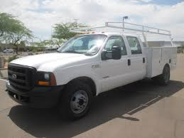100 Ford F350 Utility Truck USED 2006 FORD SERVICE UTILITY TRUCK FOR SALE IN AZ 2344