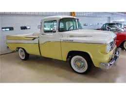 1959 Dodge Pickup For Sale   ClassicCars.com   CC-920418 1959 Dodge 100 4x4 Panel Truck The Hamb Truck A Rare That Was Flickr Pictures Of D100 Utiline Pickup 1024x768 1957 For A Lover Hot Rod Network File1959 24930442jpg Wikimedia Commons Sweptside Restoration Parts Catalog Awesome 28 Images Sweptline T207 Kissimmee 2011 Stock 815589 Sale Near Columbus These Eight Obscure Trucks Are Vintage Design Classics