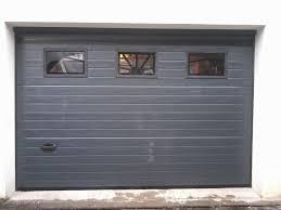 porte de garage sectionnelle 40 mm