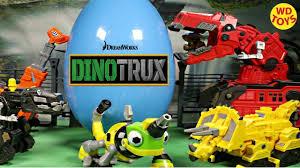 100 Dinosaur Truck New Giant Dinotrux Surprise Egg Toys Dreamworks S