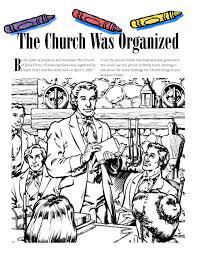 The Church Was Organized