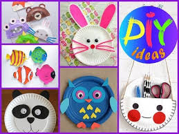 Easy And Fan Paper Plate Crafts For Kids