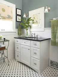 vintage black and white bathroom decorating clear