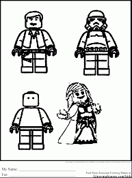 Astonishing Lego Star Wars Printable Coloring Pages With And