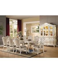 Chantelle Collection 6354010TCCB 10 PC Dining Room Set With Table 6 Side Chairs
