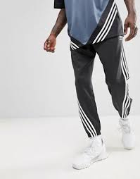 Adidas Originals Nova Wrap Around Joggers In Black CE4806