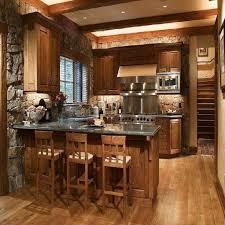 Best 25 Small Rustic Kitchens Ideas Kitchen Cabin Decor