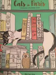 Coloring Book Review Cats In Paris By Won Sun Jang