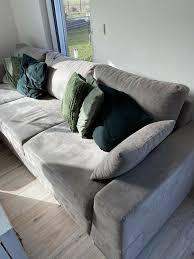 sofa wohnlandschaft taupe sitzecke schlaffunktion ecksofa