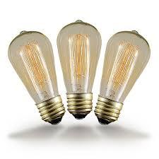 buy 60w st64 vintage edison style filament bulbs novelty lights inc