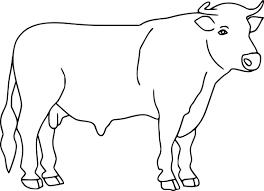Élégant Dessin A Colorier Et A Imprimer De Vache Mademoiselleosakicom