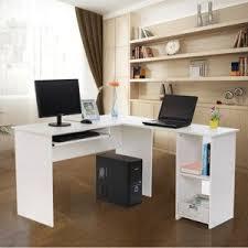 vente bureau informatique rocambolesk superbe bureau informatique blanc avec tablette