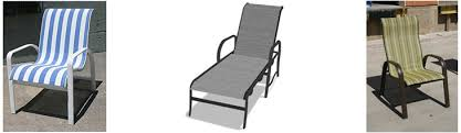 Replacement Patio Chair Slings by Our North Texas Location Is Your Complete Source For Patio
