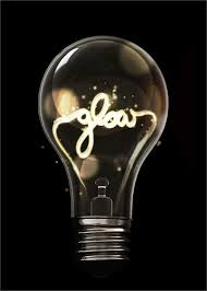 image result for bulb with writing in filament design week