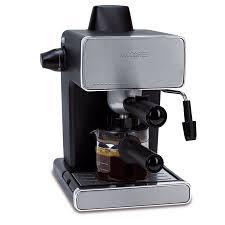 Mr Coffee Steam Espresso Cappuccino Maker 4 Shot BVMC ECM260