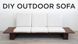 DIY Outdoor Sofa - YouTube Ding Chairs Kitchen Ikea Chair For Sale Home Prices Brands Review In Philippines Outdoor Fniture Patio Sets By King Texas Winston Hampton Bay Beville 7piece Padded Sling Set Kids White Plastic Best Wallpaper Garden Robert Dyas Delta Iii Fxible Modular Sofa Lounge Couch Living Lifetime 6 Ft Folding Pnic Table With Benches22119 The Depot