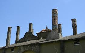 the old kilns picture of moravian pottery and tile works