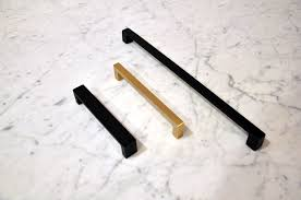 Black Dresser Drawer Pulls by Brushed Brass Or Matte Black Aka Which Way Should My Cabinets