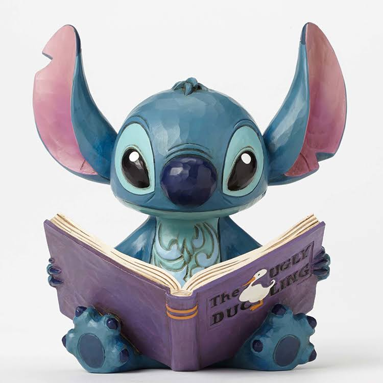 Disney Traditions Stitch with Storybook