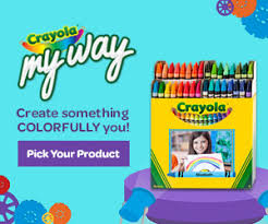Crayola My Way STATS ON THIS COLORING PAGE
