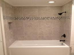 Tiling A Bathtub Alcove by 18 Photos Of The Bathroom Tub Tile Designs Installation With