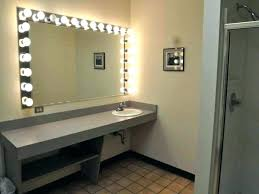 lighted wall mounted makeup mirror image for wall mounted