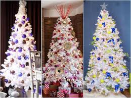 Silver Tip Christmas Tree Artificial by Color Your Christmas With These 10 Artificial Trees Hgtv U0027s