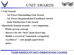 Awards And Decorations Air Force by Ppt Air Education And Training Command Powerpoint Presentation