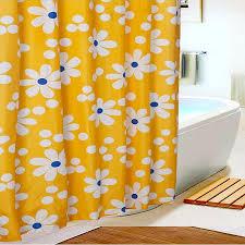 yl22 neue bade duschvorhang stoff moderne blume polyester elegante wasserdicht gardinen badezimmer produkte mit 12 haken