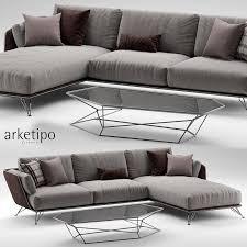 canap arketipo arketipo 3d models and textures turbosquid com