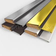 Residential Aluminum Fixed Threshold Outswing with Kerf in Foam