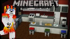 minecraft 1 8 9 mod review showcase Mr Crayfish furniture mod