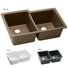elkay elgu250 e granite 33x20 5 in double bowl undermount sink
