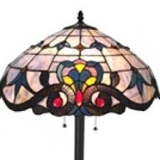 Tiffany Style Glass Torchiere Floor Lamp by Stained Glass Tiffany Style Floor Lamps For Sale All Things Tiffany