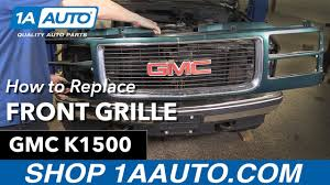 How To Replace Install Front Grille 94-98 GMC Sierra K1500 Buy ... R3dl3eard 1994 Gmc Sierra 1500 Extended Cab Specs Photos 2015 Denali 2500 Diesel Full Custom Build Automotive Dont Just Leave The Competion In Dust Roll Over Them 2500hd Parts Thousand Oaks Ca 4 Wheel Youtube 2007 Sierra East Coast Auto Salvage 2002 Denali Stk 3c6720 Subway Truck Parts 18007 2016 Elevation Edition All You Wanted To Know Product 2 Z85 Chevy Decal Sticker For Silverado Or Premium 072013 3500hd Factory Red Led Used 2005 53l 4x2 Subway Truck Inc Chevylover1986 1984 Classic Regular 9913 Silverdao Crew Cab 3 Round Nerf Bars Side