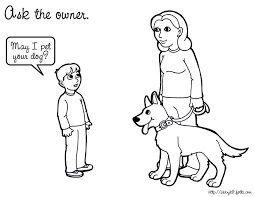 Safety Coloring Page Dogsafety 162201 1600x1236 162202