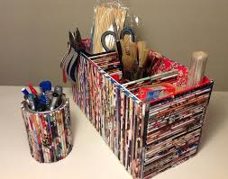 Paper Crafts Recycled Newspaper