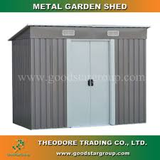 Metal Storage Shed Doors by Metal Shed Metal Shed Suppliers And Manufacturers At Alibaba Com